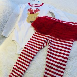 2pc Reindeer Infant Outfit